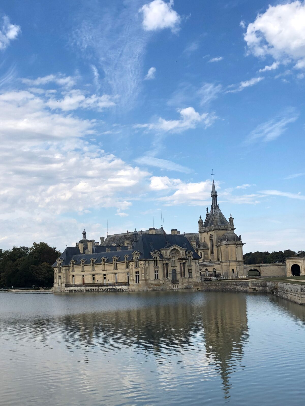 chateau de chantilly lac