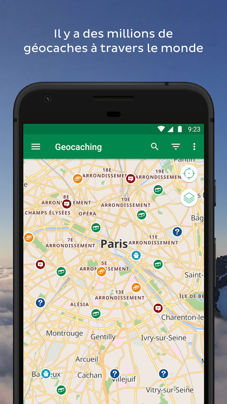 geocache application